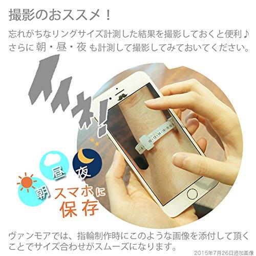 『リングゲージバンド 日本製 指のサイズ計測用(指輪用)-10~43号』の6枚目の画像