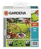 Gardena 8255-20 Set, Negro, Naranja