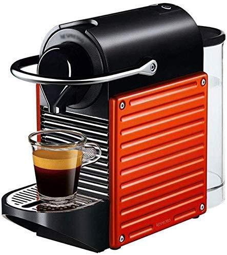 YAeele Máquina de café, Completamente automática de Hogares Máquina de cápsulas, Auto Power Off Cafetera 19Bar 0.7L Cafetera, Fot Home Office Hotle