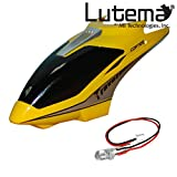 Lutema Mid-Sized 3.5CH Helicopter Repair Kit # 8 - Yellow Cabin & LED