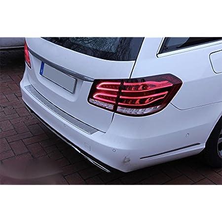 Matt Gebürstet S212 W212 T Modell Edelstahl Ladekantenschutz Abkantung Auto