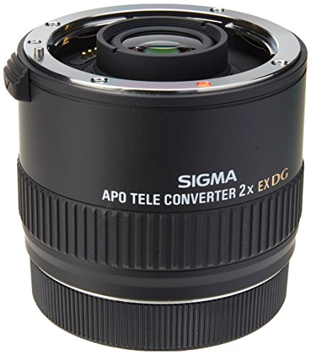 Sigma 876-927 - Conversor Tele 2X EX APO DG para Canon, Negro