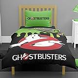 Juego de cama reversible para cama individual o doble, diseño de cazafantasmas que brillan en la oscuridad Cazafantasmas GID Single Duvet Cover