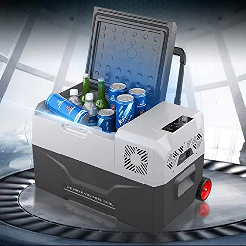 YELLAYBY Quick Cooling 30/40 / 50L refrigerador Auto-refrigerador 12V Portátil Mini refrigerador...
