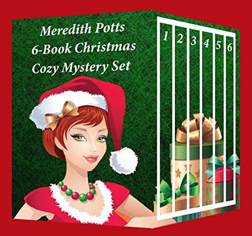 Meredith Potts 6-Book Christmas Cozy Mystery Set