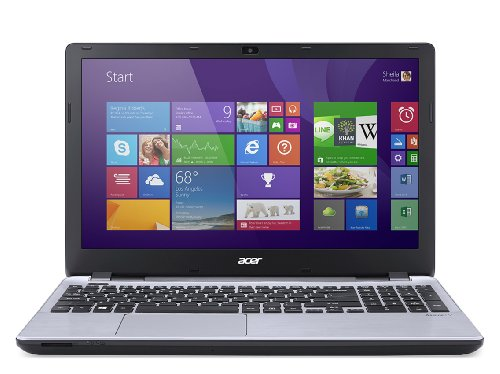 Acer Aspire V3-572G-76EM 15.6' 16:9 Notebook - 1920 x 1080 - ComfyView - Intel Core i7 i7-5500U Dual-core (2 Core) 2.40 GHz - 8 GB DDR3L SDRAM - 1 TB HDD - Windows 8.1 64-bit - Silver - NVIDIA GeForce 840M 2 GB - Bluetooth - Front Camera/Webcam - Gigabit - NX MPYAA 003