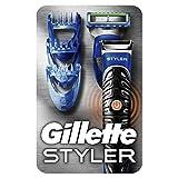 Gillette Styler Multiusos: Recortadora Barba, Maquinilla Y Perfiladora, Para Dominar Cualquier Estilo De Barba
