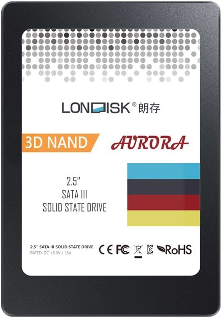 Londisk 120gb Ssd Festplatte 2 5 Zoll Internes Sata Iii Computer Zubehör