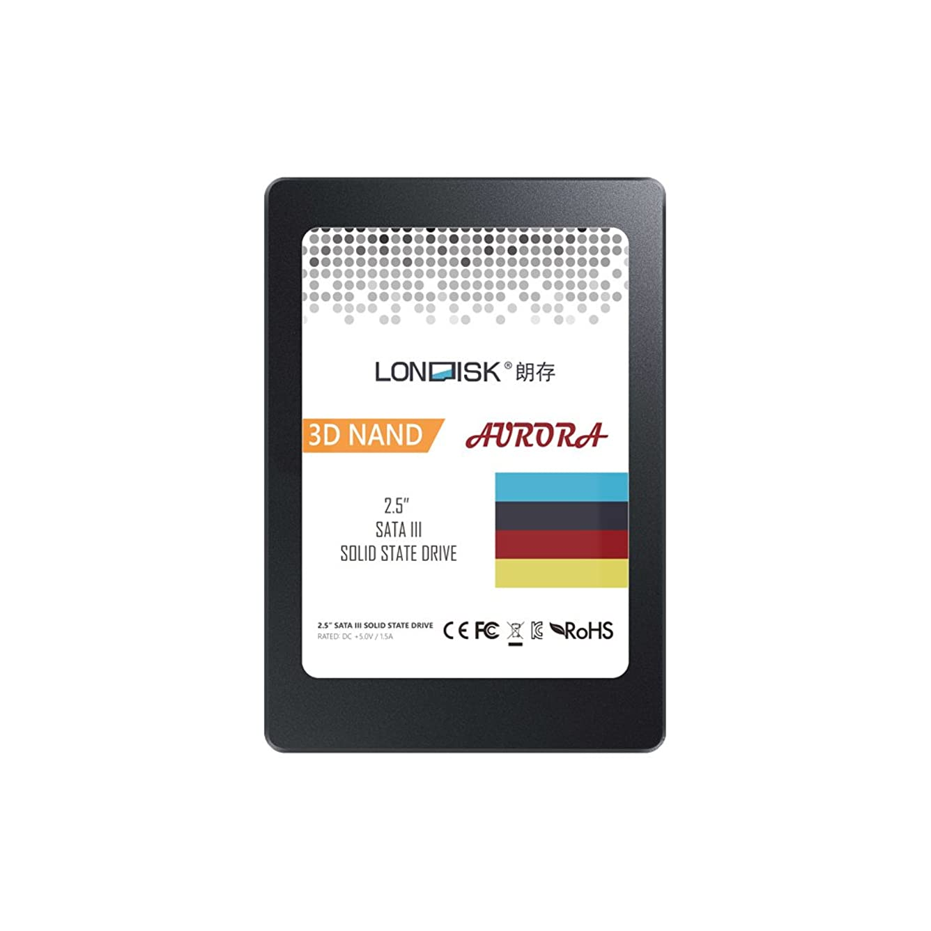 表面的な要求するアジテーションLONDISK SSD 480GB 2.5インチ SATA3 内蔵型 ソリッドステートドライブ (SSD) ノートパソコン デスクトップパソコン用 (480GB SSD)