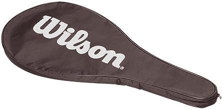 غطاء لمضرب التنس من ويلسون WRC600200 - اسود ابيض