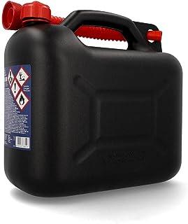 Cartrend benszinkanister 10 l plast, färgsorterad