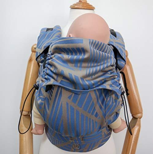 NEKO SWITCH Baby - Marsupio Neonato Portabebè Regolabile Ergonomico Neonato Zaino Porta Bimbo e Bebè (Aotl Horizon)