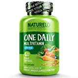 NATURELO One Daily Multivitamin for Men with Whole Food Vitamins and Organic Extracts