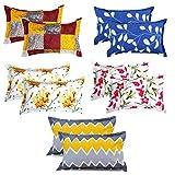 Best Pillows - VAS COLLECTIONS 10 Pcs Glace Cotton Pillow Cover Review