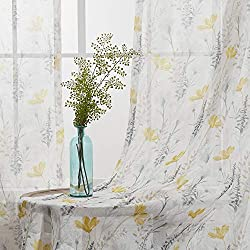 Flora Sheer Curtain