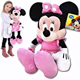 Disney Peluche de Minnie Mouse, tamaño XXL, 62 cm