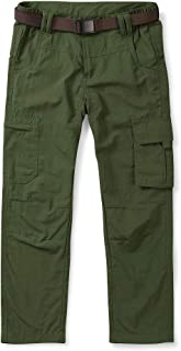 OCHENTA Kids Boy's Youth Quick Dry Pull on Cargo Pants, Outdoor Hiking Camping Fishing