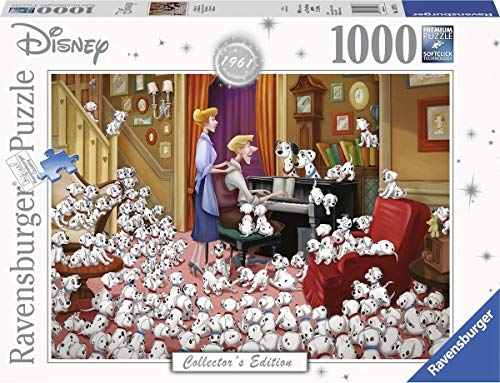 9736 ラベンスバーガー ディズニー 101匹わんちゃん ジグソーパズル パズル 1000ピース  Disney 101 Dalmatians [並行輸入品]