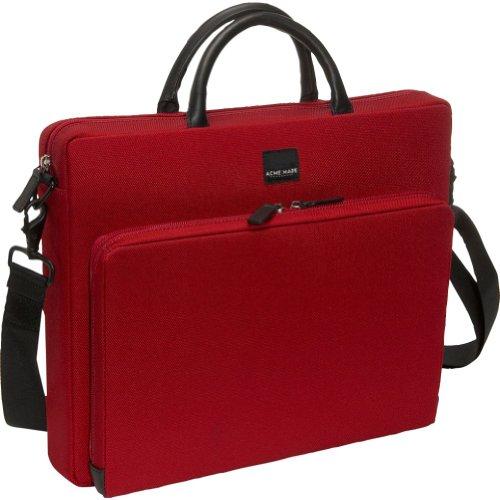 Acme Made Slim Cargo-Medium Notebooktasche (39,1 cm (15 Zoll) chili rot