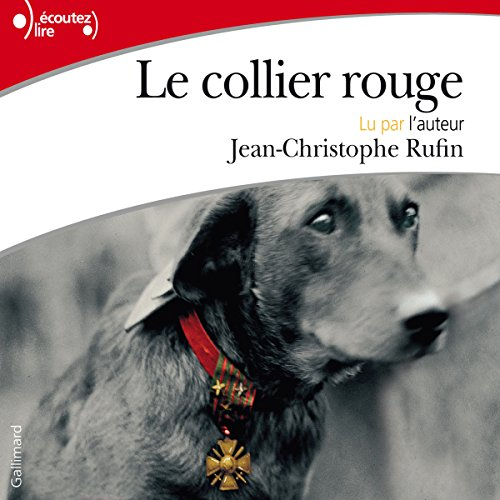 Le collier rouge audiobook cover art