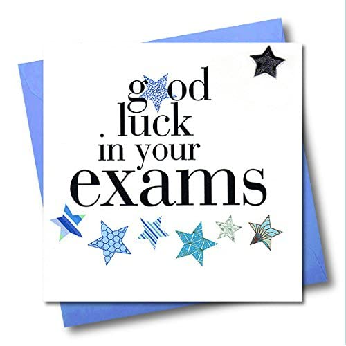 Good Luck In Your Exams Card Amazoncouk