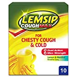 Lemsip Cough Max for Chesty Cough and Cold Powder for Oral Solution, 10