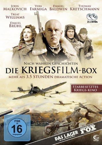 Die Kriegsfilm-Box - 2 dramatische Kriegsfilme in einer Box: Das Lager - Wir gingen durch die Hölle, Codename FOX - Die letzte Schlacht im Pazifik [2 DVDs]