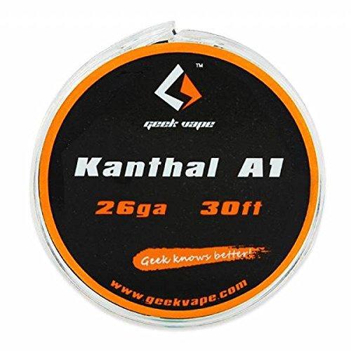 GeekVape Filo resistivo DIY Kanthal A1 Tape Wire (26ga) 10M - Non Contiene Nicotina