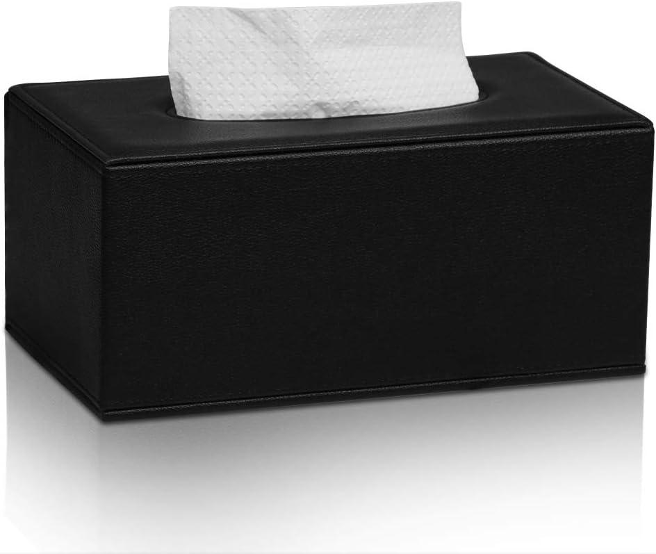 MEIBOOCH PU Sale item Direct sale of manufacturer Leather Facial Tissue Holder Size Box Tissu Standard