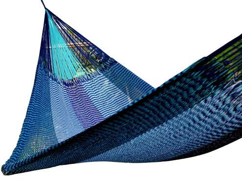 Hill Tribe XL (SJ) Hammock/Shade of Blue, The Most Weather Resistant, FAIR Trade Hammock