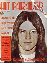 Hit Parader Magazine GRAND FUNK Edgar Winter JIMMY PAGE CENTERFOLD Foghat PAUL SIMON Mark Farner BACHMAN TURNER OVERDRIVE September 1974 C (Hit Parader Magazine)