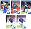 2019 Donruss Soccer SSC Napoli Veteran Team Set of 5 Cards: Arkadiusz Milik(#71), Lorenzo Insigne(#72), Dries Mertens(#73), Marek Hamsik(#74), Piotr Zielinski(#75)
