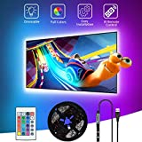 LED TV Hintergrundbeleuchtung,SHOPLED 3m USB LED Strip TV LED Licht für 40-60 Inch RGB 5050 Lighting LED Beleuchtung für HDTV, TV-Bildschirm, PC