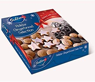 Bahlsen Holiday Gingerbread Selection, 17.6-ounces, Made in Germany