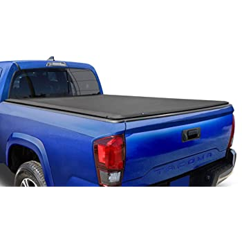 Amazon Com Tyger Auto T1 Soft Roll Up Truck Bed Tonneau Cover For 2005 2015 Toyota Tacoma Fleetside 5 Bed Tg Bc1t9036 Black Automotive