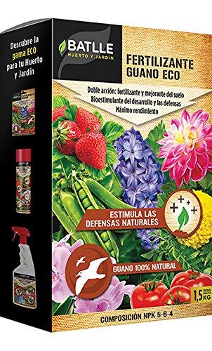 Abonos Ecológicos - Fertilizante Guano Biológico Caja 1,5Kg. - Batlle