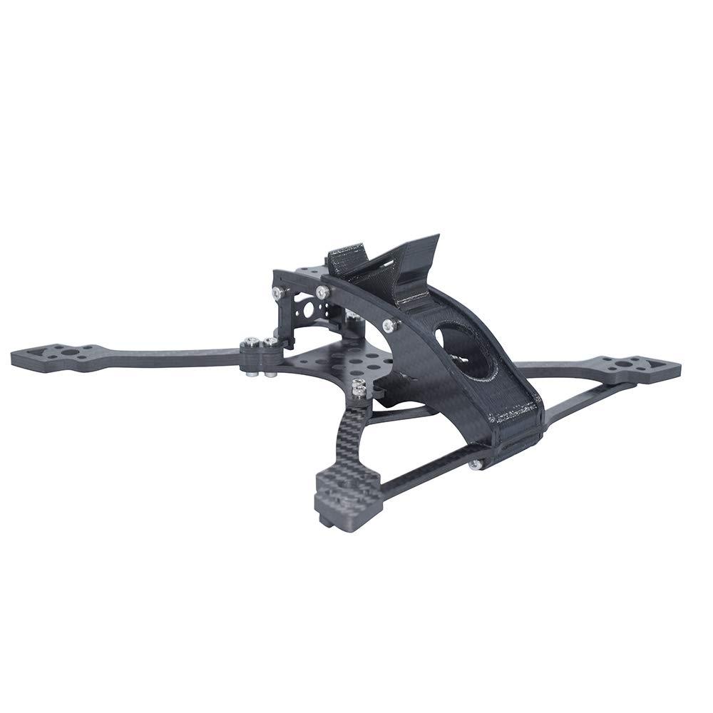 BliliDIY Tk-I 230 Mm Distancia Entre Ejes 5 Pulgadas 5 Mm Brazo Fibra De Carbono FPV Racing Frame Kit para RC Drone 106G: Amazon.es: Electrónica