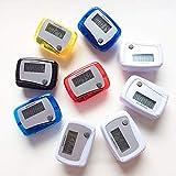 FOReverweihuajz Mini Contapassi Portatile Con Pedometro 3D Da Passeggio, Contapassi Digitale LCD Con...