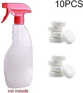 Alftek 1/5 / 10Pcs Multifuncional Efervescente Spray Cleaner Concentrado Herramienta de Limpieza del hogar