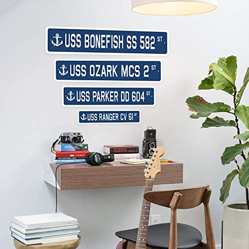 "BARBER SHOP Street Sign novelty salon barbershop stylist haircut | Indoor/Outdoor | �18"" Wide Plastic Sign Photo #5"