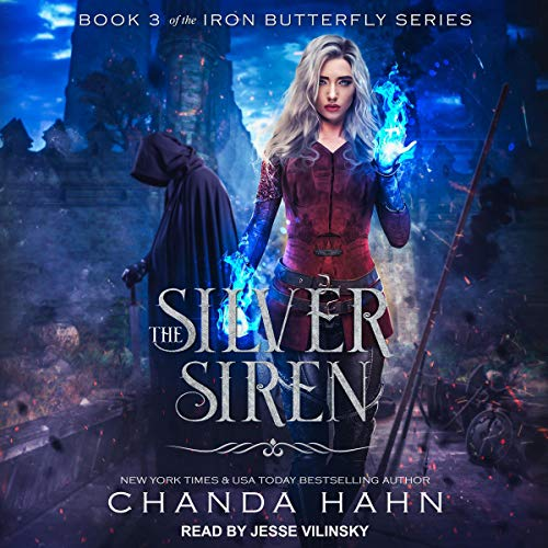 The Silver Siren audiobook cover art