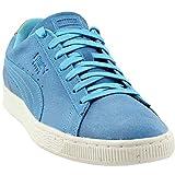 Puma - Chaussures déco en Daim Hommes, 44.5 EU, Aquarius/Golden Brown