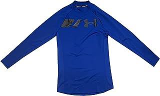 Under Armour Men's UA ColdGear Grid Mock Long Sleeve T-Shirt Tee Fitted Shirt 1357359