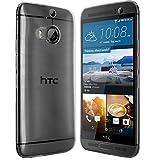 moodie Silikonhülle für HTC One M9+ Hülle in Anthrazit-transparent - Hülle Schutzhülle Tasche für HTC One M9 Plus