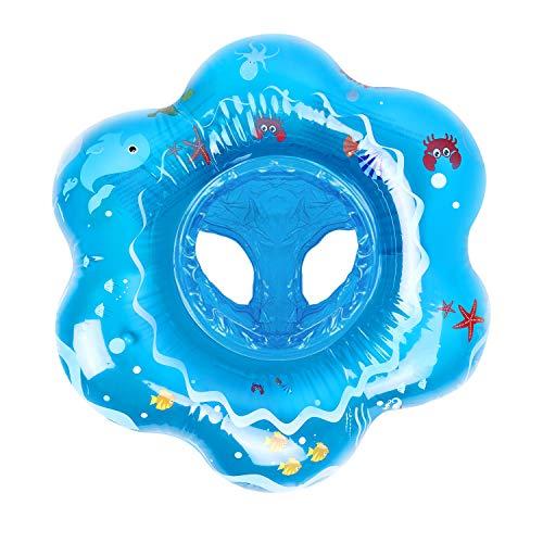 Magicfun Baby Schwimmring, Kleinkind Schwimmhilfe Schwimmt Ring, Kinder Schwimmtrainer, Aufblasbarer Kinder Schwimmen Float Ring für 6 Monate bis 36 Monate Baby (Übergroß)