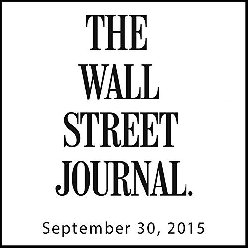 The Morning Read from The Wall Street Journal, September 30, 2015 copertina