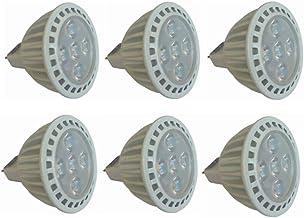 SGJFZD 24V MR16 LED Bulbs 50W Halogen Equivalent 3000K/6000K 5W GU5.3 MR16 24V Spotlight Bulb Non-Dimmable 45 Degree Beam ...