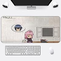 マウスパッドShugoCharaアニメゲーミングマウスパッドゲーマー大型コンピューターキーボードデスクマウスマット400x900x4mm