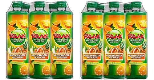 Raak vruchtensiroop multivruchten - Getränke-Sirup Multi-Fruit (6 x 0,75L)