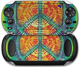 Tie Dye Peace Sign 111 - Decal Style Skin fits Sony PS Vita